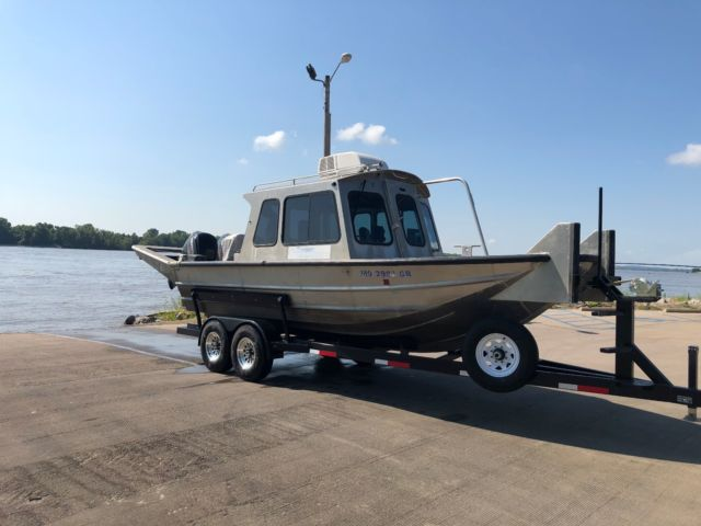 Cape Girardeau Honda >> 2014 Scully Work/Survey Boat with Twin 115 Mercury 4 ...