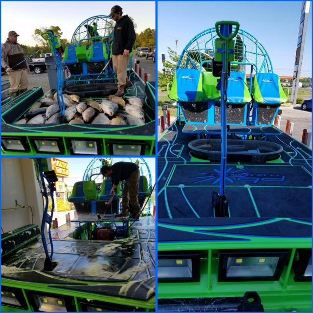 Big Block Chevy Blower Pistons: 2016 Custom PB Performance Airboat For Sale In