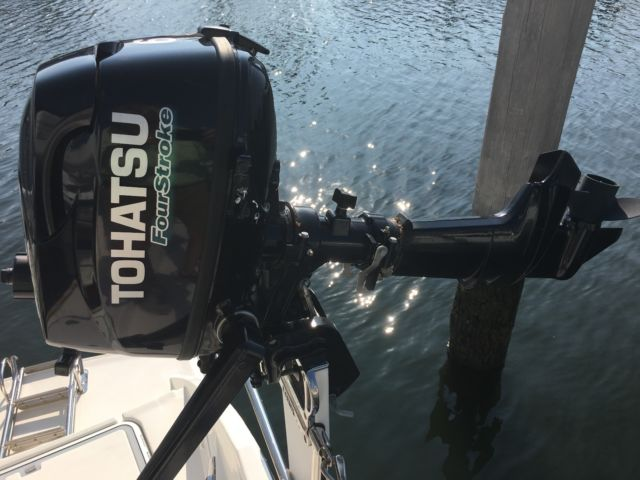 2016 tohatsu 6hp outboard engine with built in fuel tank for Tohatsu boat motors for sale