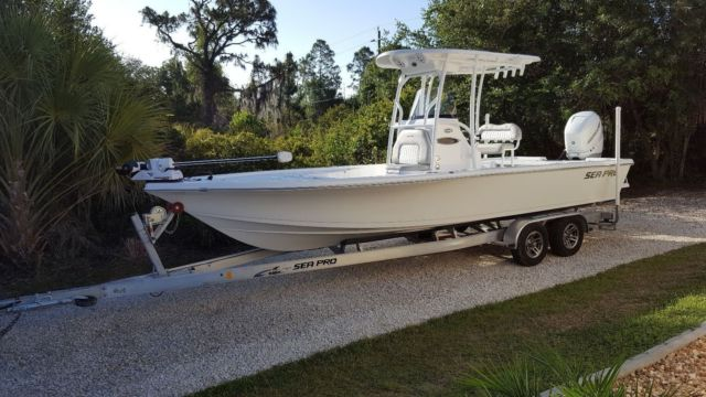 2017 Sea Pro 248 For Sale In Arcadia Florida United States