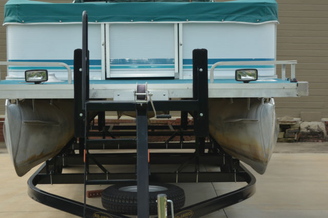 24 Foot Godfrey Sweetwater Pontoon With Dual Axle Trailer