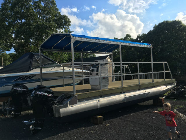 30' Pontoon Barge - Aluminum for sale in Southold, New ...