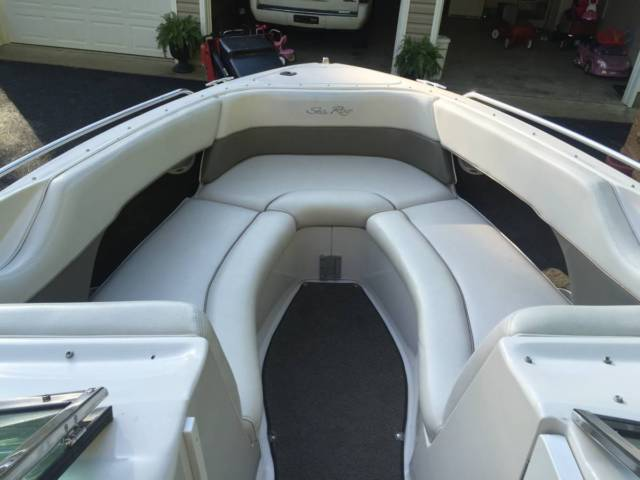98 Sea Ray Sundeck 260 bowrider with trailer for sale in