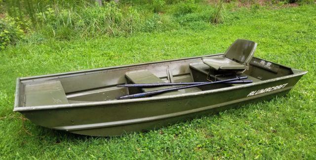 Duck Hunting Boats For Sale >> ALUMACRAFT 10' Jon Boat Flat Bottom Bass Fishing Duck ...