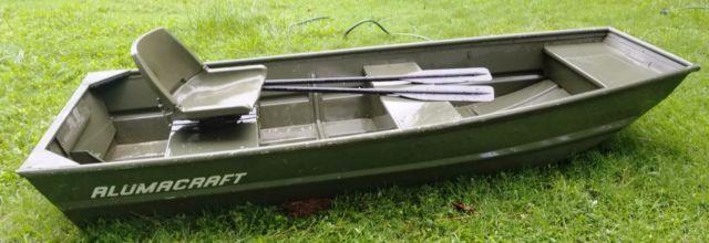 Alumacraft Boats For Sale >> ALUMACRAFT 10' Jon Boat Flat Bottom Bass Fishing Duck ...