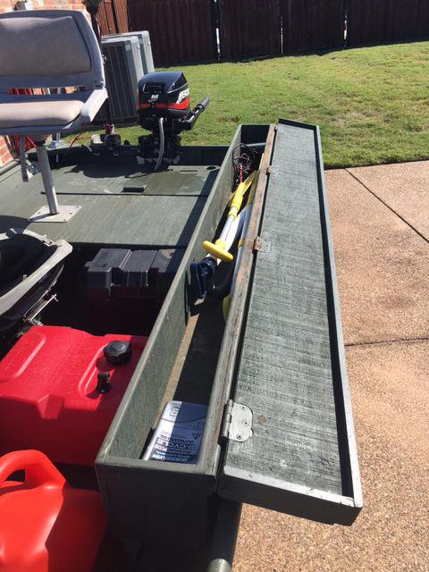 Duck Boats For Sale >> Alumacraft 14' Jon Boat, Mercury 9.9 Fourstroke, Trailer ...
