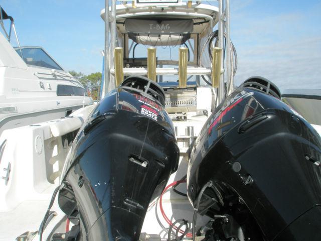 Suzuki Outboards For Sale >> AquaSport 225 Walk Around Cuddy Fishing Boat & Twin 2009 Suzuki DF 140 Outboards for sale in ...