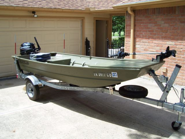 Bass boat lowe aluminum 12 39 9 9 merc 4 stroke elec for for Best aluminum fishing boat for the money