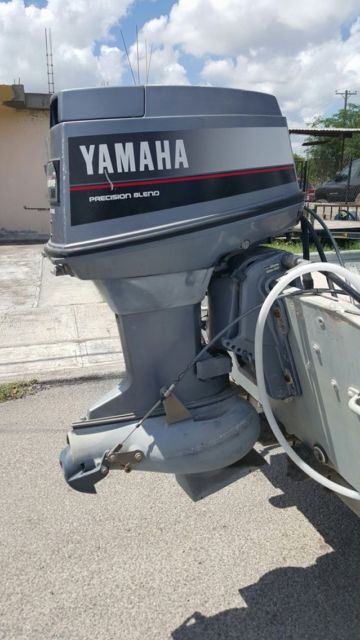Boat trailer yamaha 50hp outboard motor jet drive pump for Yamaha boat motors for sale