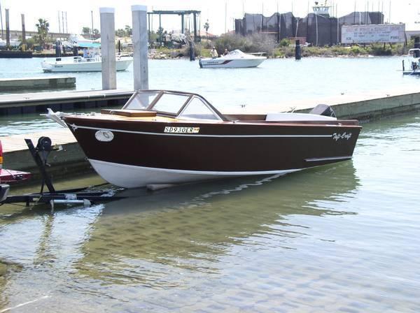 1960 Taftcraft Kit Boat