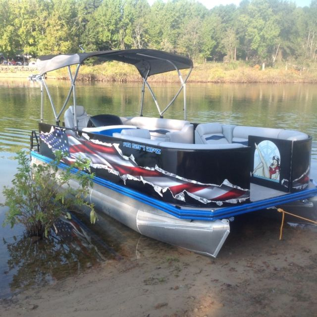 Custom Pontoon Boat For Sale In Mountain View Arkansas