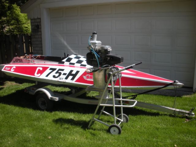 DeSilva C-race-boat-and-Rebuilt-102-Yamato-APBA-Legal-racing