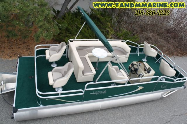 Factory Direct Pontoon Boats New 20 Ft Grand Island G