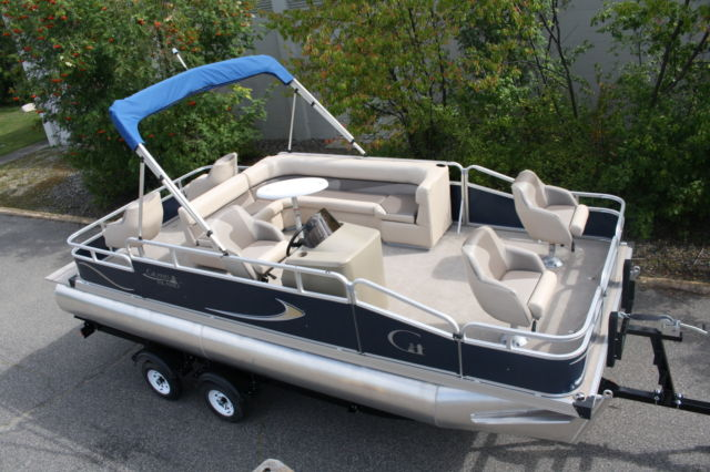 Factory Direct Pontoon Boats New 20 Ft Grand Island