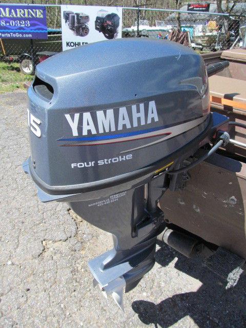 Fisher 1448 jon boat yamaha 15 hp engine 4 stroke for for 2004 yamaha 15 hp 4 stroke