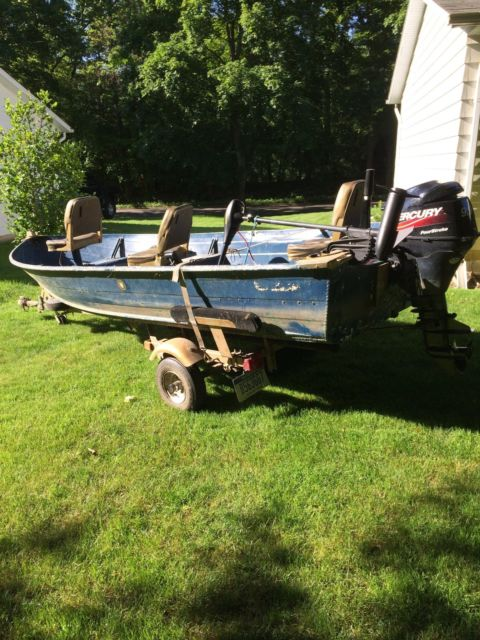 Fishing boat motor trailer package for sale in niles for Outboard motors for sale in michigan