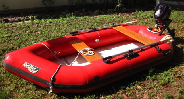 Inflatable Boat Amp Motor For Sale In Saint Petersburg