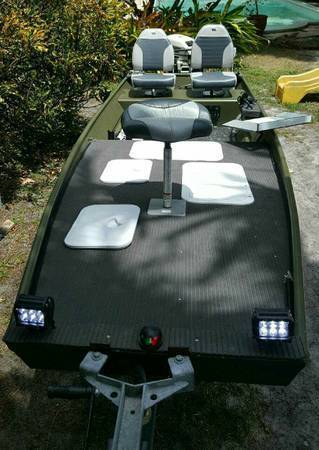 Jon Boat Custom Modification For Sale In Miami Florida