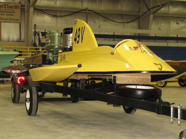 Mercury Racing Outboard Hydroplane Vintage D Class For