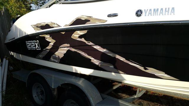 MINT 2008 Yamaha 212X AR210 SX210 Jet Boat 320 HP ...