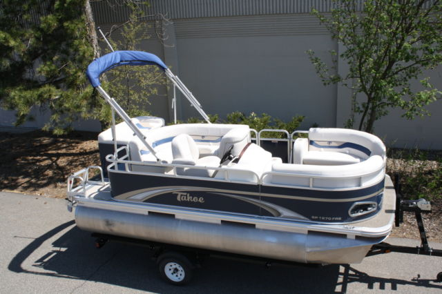 2016 Tahoe For Sale >> New -16 ft pontoon boat by 7 ft Tahoe pontoon boat for sale in Grand Rapids, Minnesota, United ...