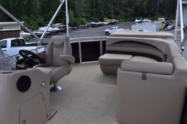 New 22 Crestliner 220 Cruise Tritoon Pontoon Boat 150 Hp Mercury 4 Stroke For Sale In