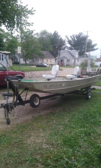 Can Flat bottom aluminum fishing boats