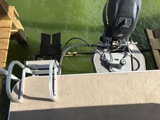 Tracker Pontoon Boats >> Pontoon Boat Suntracker Bass Buggy 18 with Trailer and Cover for sale in Huntsville, Texas ...