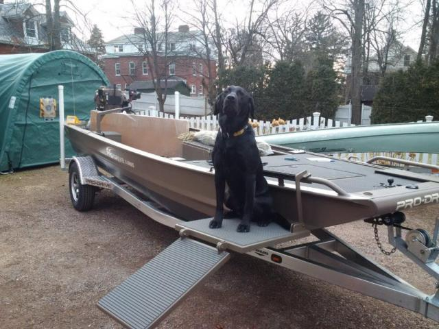 Duck Boats For Sale >> Pro-Drive Duck Fishing Boat 37 HP EFI Pro Drive Surface ...