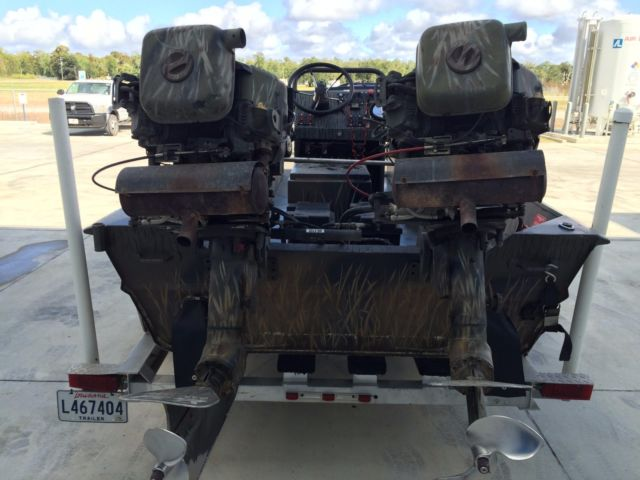 Prodrive 21 Hunting Mud Boat Twin 36 Hp Engines Center