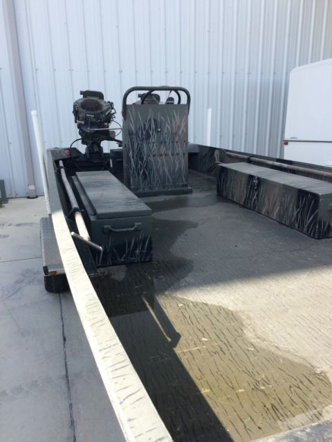 Duck Hunting Boats For Sale >> ProDrive 21'Hunting Mud boat Twin 36 hp engines Center ...