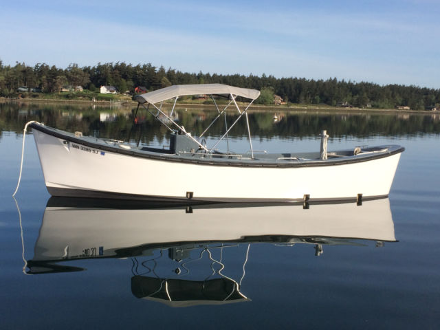 Restored 26 39 uscg motor surf boat for sale in lopez island for Motors for boats for sale