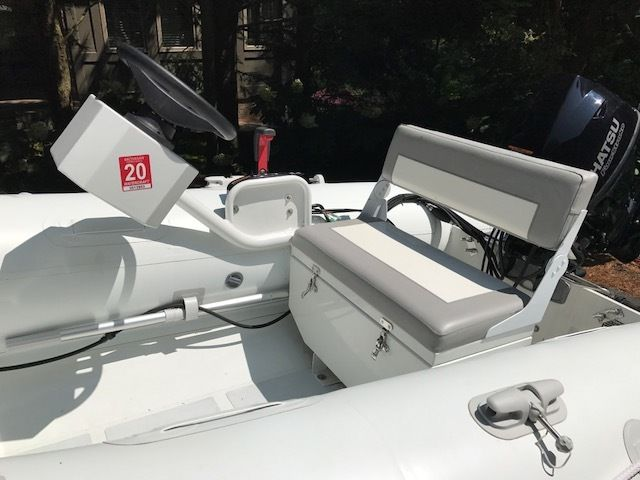 Rigid Inflatable Boat Aventus 330 Aluminum Hypalon Like