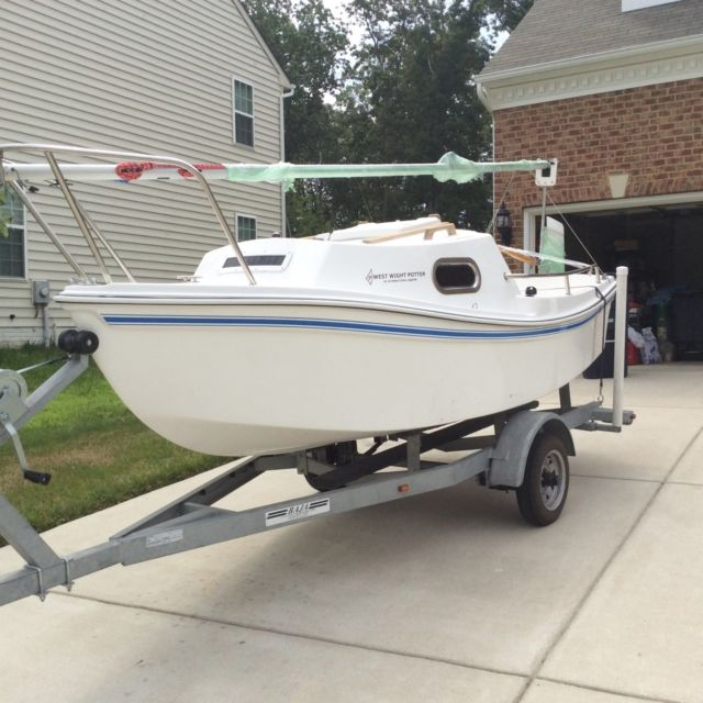 Sailboat West Wight Potter 15 Foot For Sale In Brandywine