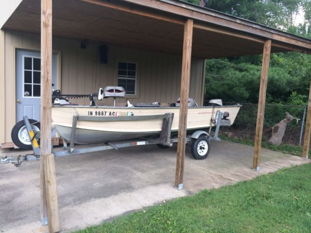 Starcraft 14 Ft Deep V Bottom Fishing Boat For Sale In
