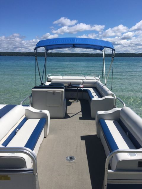 Starcraft Pontoon Boat 24 Stardeck 240 For Sale In Kewadin Michigan United States