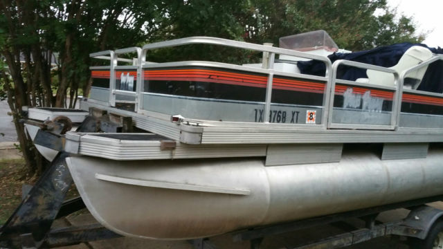 Trailer Bill Of Sale Texas >> Sun Tracker 20ft Pontoon Boat 650 Mercury Outboard Motor NO RESERVE for sale in Dallas, Texas ...