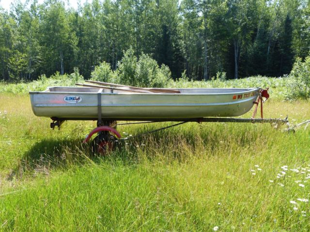 Alumacraft Boats For Sale >> Vintage Alumacraft 14' Model FL Boat with Trailer for sale in Tomahawk, Wisconsin, United States