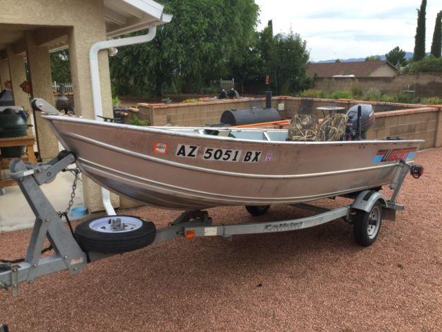 Western Welded Aluminum Boat For Sale In Kingman Arizona