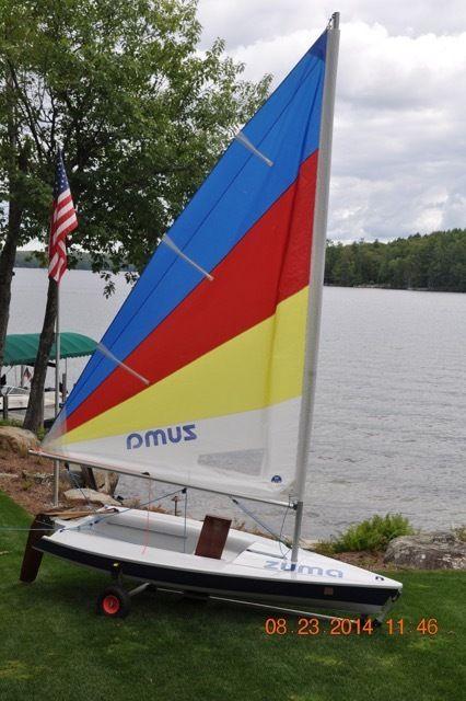 Zuma Sail Boat For Sale In Moultonborough New Hampshire