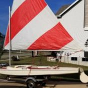 Rare Vintage 1970 Wooster Hellion Boat For Sale In