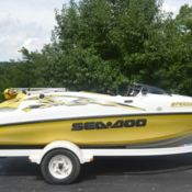 Seadoo speedster SK jet boat w mercury 210 HP jetboat VIDEO